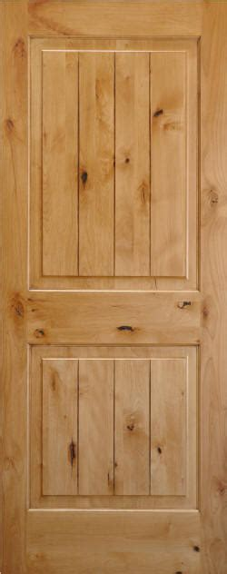 Homestead Interior Doors Knotty Alder 2 Panel Wood Doors With V Grooves Homestead Interior Doors