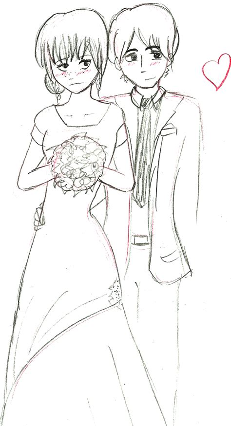 Hochzeit Zeichnung by Another Wedding Drawing By Beccaecka On Deviantart