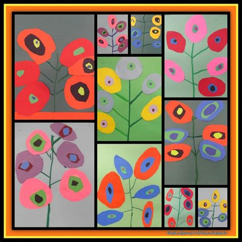 kandinsky biography for students 526 best quot kandinsky quot inspired projects images on pinterest
