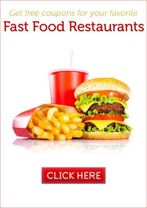 fast food restaurant coupons printable 61 best fast food coupons images on pinterest food