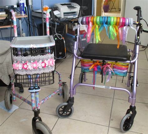 Decorated Walkers living the tropical