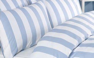 Bettdecke 220 X 140 by Bettwsche Bettbezug Set Blau Weiss Wei Gestreiften 100