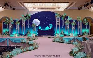 Creative Ideas For Stage Decoration by Mehndi Stage Decoration