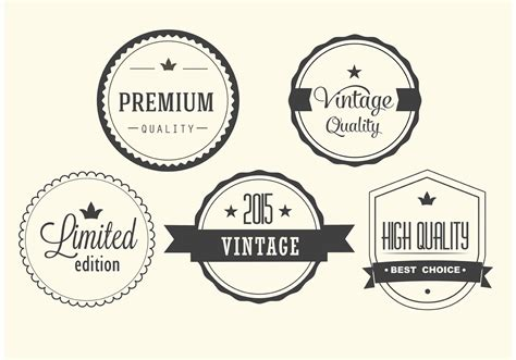 Free Download Vector Label free vintage vector label set free vector