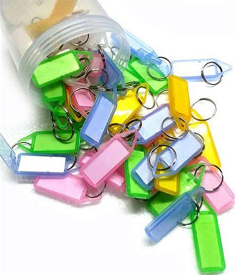 Xsy Keychain Assorted Newvi 3 kairos assorted key tag keychain pack of 50 key chains buy at low price in india snapdeal