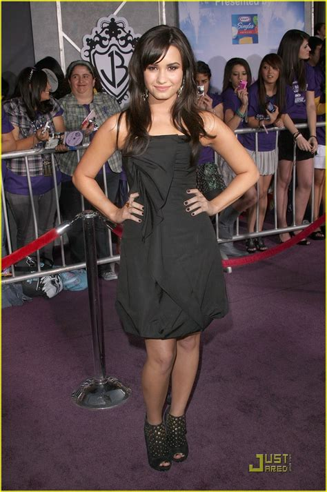 Carpet Demi And Work The Lbd by Demi Lovato Is A Black Photo 82861 Photo
