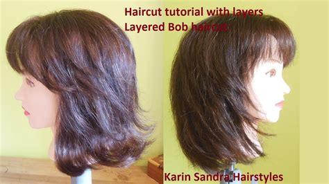 layered haircut for long hair youtube long layered haircut tutorial medium long length layered