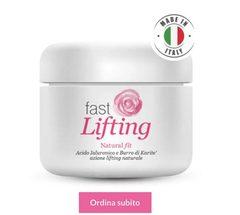 dove comprare test di fast lifting antirughe crema viso fit la