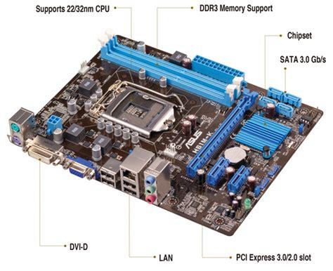 Mainboard Asus H61m C Socket Lga 1155 asus h61m k intel h61 1600mhz ddr3 lga1155 matx anakart fiyat