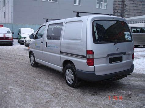 Toyota Hiace For Sale 2003 Toyota Hiace For Sale 2500cc Diesel Fr Or Rr