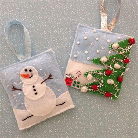 Handmade Felt Ornaments - 1171 best felt images on