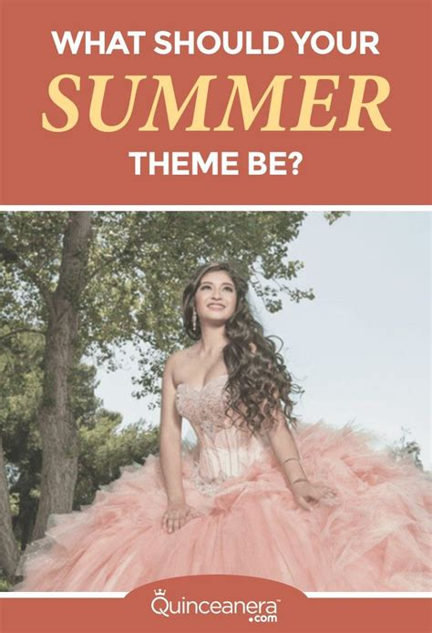 quinceanera themes quiz quinceanera summer and decoration on pinterest