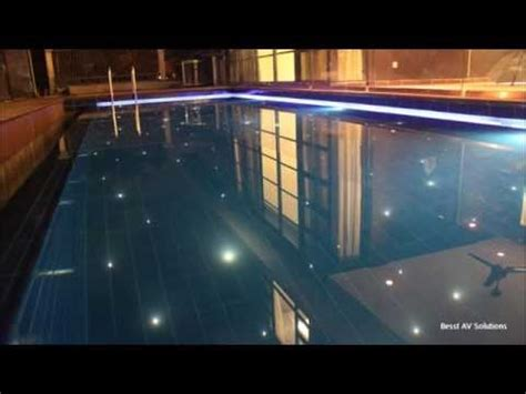 fiber optic pool lighting installation swimming pool fiber optic lighting