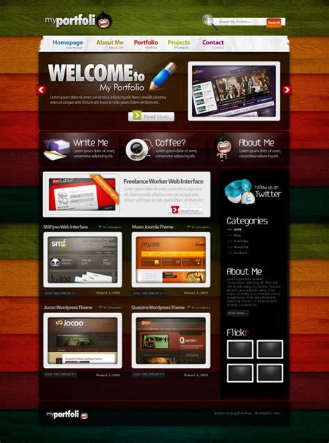 layout desain web inspirasi layout desain web dari deviantart idfreelance