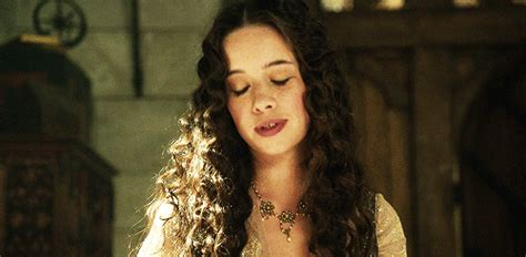 how did they curl anna poppelwale hair in reign blake the rph