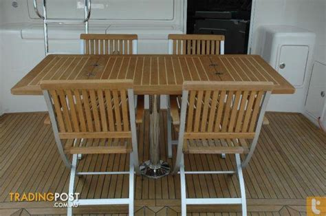 marine deck chairs australia teak line deck chair tl970 for sale in runaway bay qld