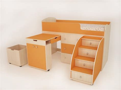 Student Desks Improving Functionality Of Modern Kids Room Modern Student Desk