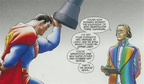 superman bench press omega shenron vs all star superman battles comic vine