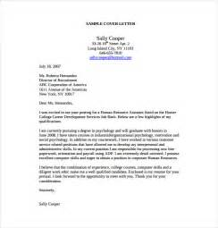 human resource cover letters 28 images human resources assistant cover letter hashdoc sle