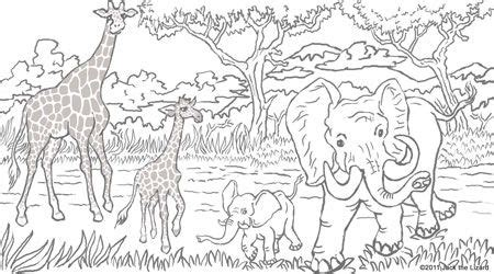 baby african animals coloring pages free printable coloring book pages best adult coloring