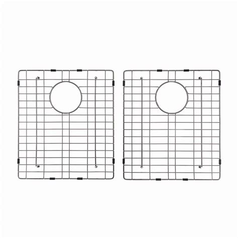 Kitchen Sink Bottom Grid Elkay Kitchen Sink Bottom Grid Fits Bowl Size 21 In X 15 75 In Gbg2115ss The Home Depot