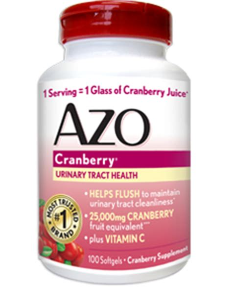 Azo Detox Pills by Azo Cranberry Products Cranberry And Uti Uti Cranberry