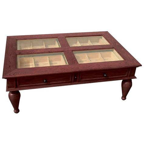 Coffee Table Cigar Humidor The Green