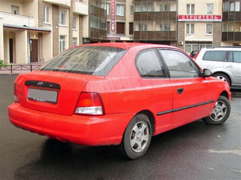 Hyundai Accent 2000 by 2000 Hyundai Accent Pictures