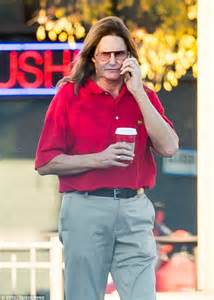 bruce jenners new hair style bruce jenner lets his hair down after divorce from kris