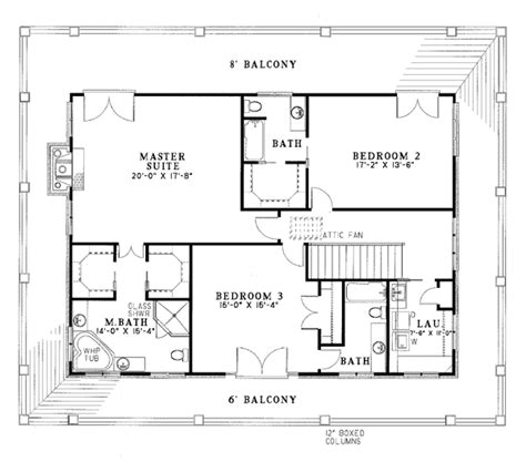 Multiplex Housing Plans Small by House Plan 62012 At Familyhomeplans Com