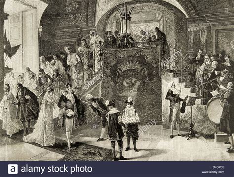 Hochzeit 18 Jahrhundert by 18th Century Wedding Stockfotos 18th Century Wedding