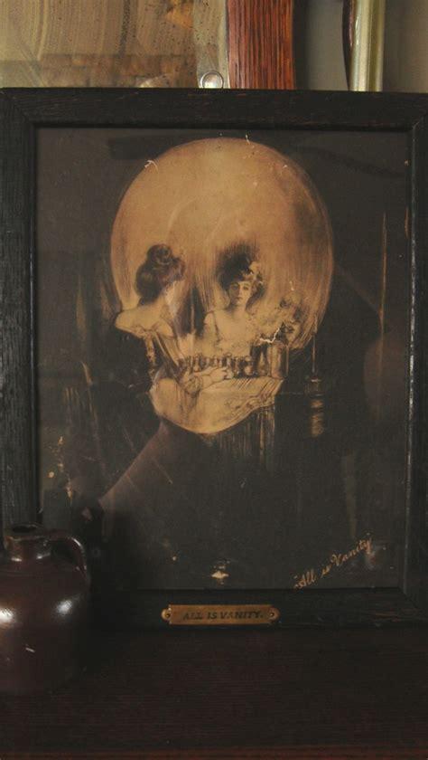 C Allan Gilbert All Is Vanity by All Is Vanity Print By Charles Allan Gilbert By Vintagestorefront