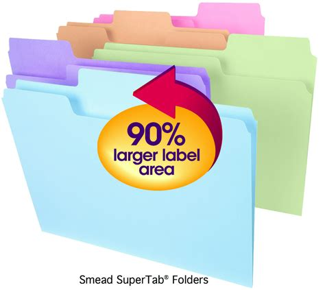 friday find colorful office supplies simplified bee organizing your files with smead office supplies