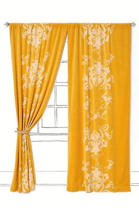 mustard yellow velvet curtains ochre viceroy velvet curtains for the home pinterest