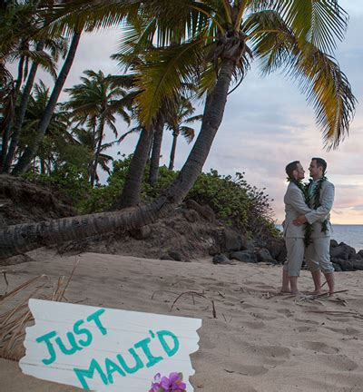 gay wedding packages on maui gay hawaii wedding gay