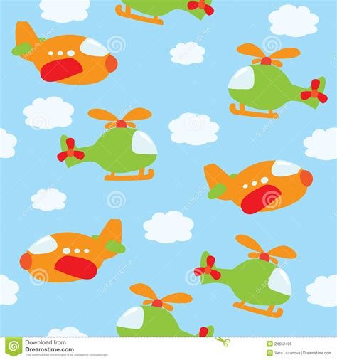 pattern airplane seamless airplane pattern stock vector image of decor