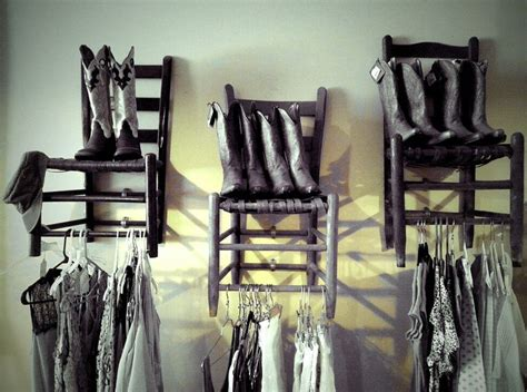unique shelving hang  cool chairs   wall