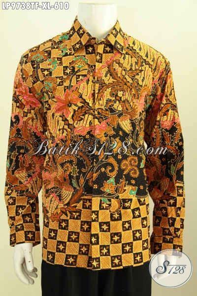 desain baju lengan panjang online desain baju batik pria lengan panjang premium pakaian