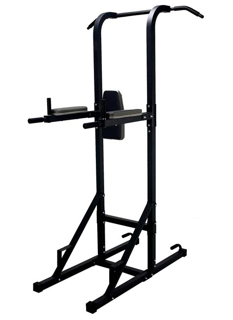 trojan power tower vkr chin up station dips push up pull
