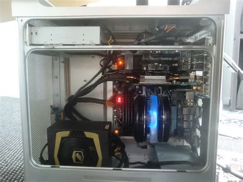 The Shelf Hackintosh by Building A Mac Pro Hackintosh Part 3 Fitting All The