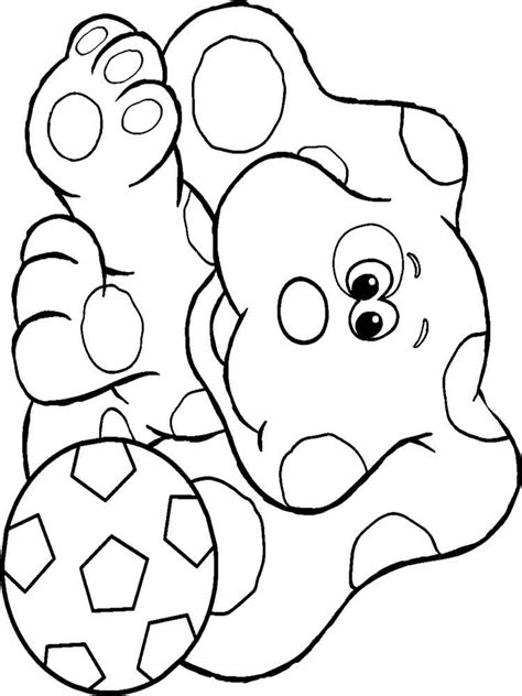 blues clues coloring pages blue s clues coloring pages and print blue s