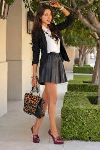style tips on how to wear a mini skirt hubpages