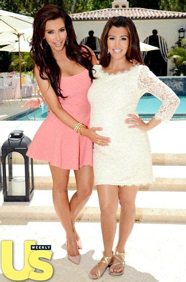 Kourtney Baby Shower by Inside Kourtney S Baby Shower The Dress