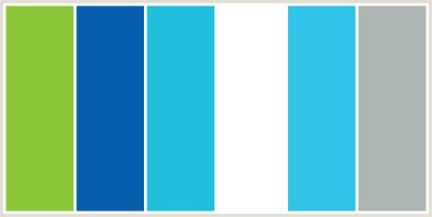 color combination with blue color scheme named colorcombo137 from colorcombos com containing web hex colors for the home