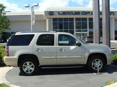 2007 gold mist metallic gmc yukon denali awd 13746810 gtcarlot car color galleries