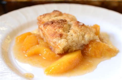 Peach Cobbler | gluten free peach cobbler recipe dishmaps