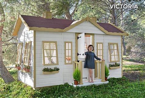 casa de madera  ninos victoria casita de madera