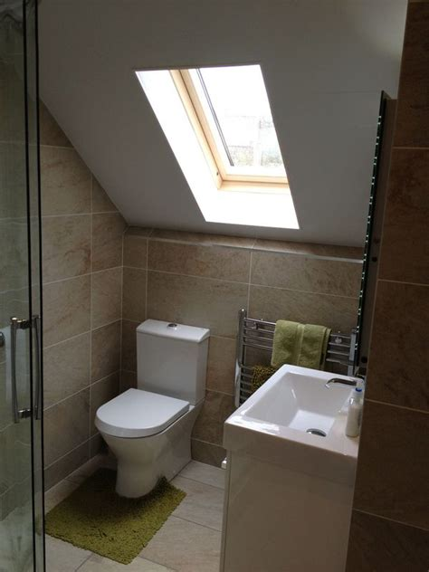 bathroom in loft conversion loft conversion bathroom by helmanis howell roman showers
