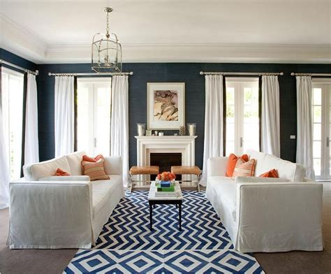 coral and navy living room favorite places and spaces