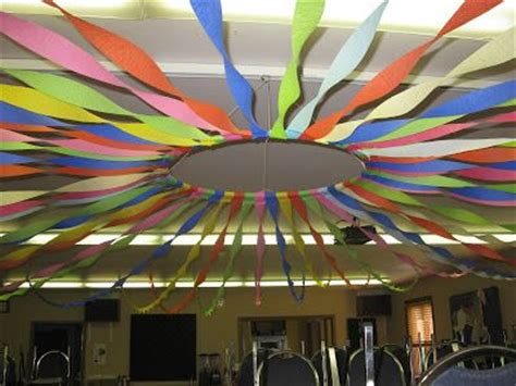 Streamer Chandelier Diy Circus Tent Look Starts With A Hula Hoop And Several